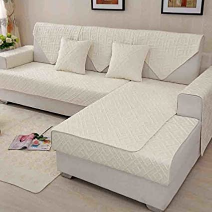 Charmant Le Fu Yan Washed Sofa Slipcovers,Cushion Covers Universal Anti Slip Full  Cover Sofa