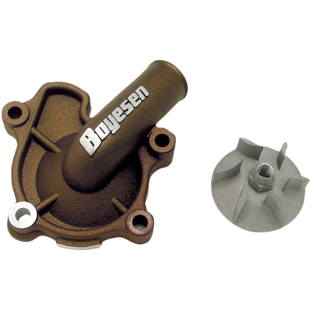 Boyesen Supercooler Water Pump Cover and Impeller Kit Magnesium - Fits: Honda CRF250X 2015-2017