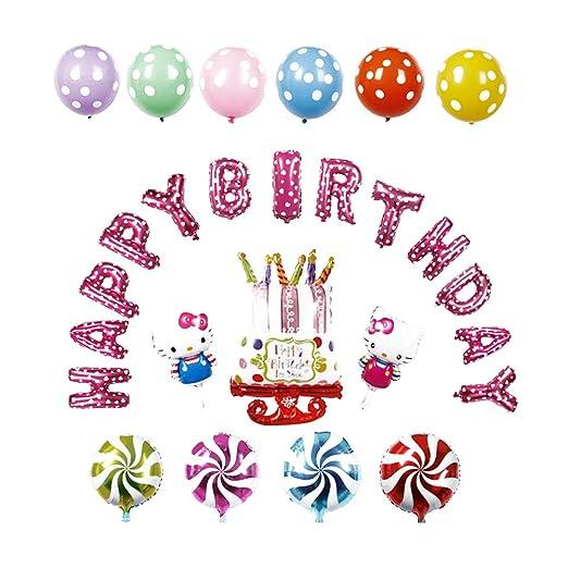 Sungpunet - Globo de Aluminio para cumpleaños, diseño de ...
