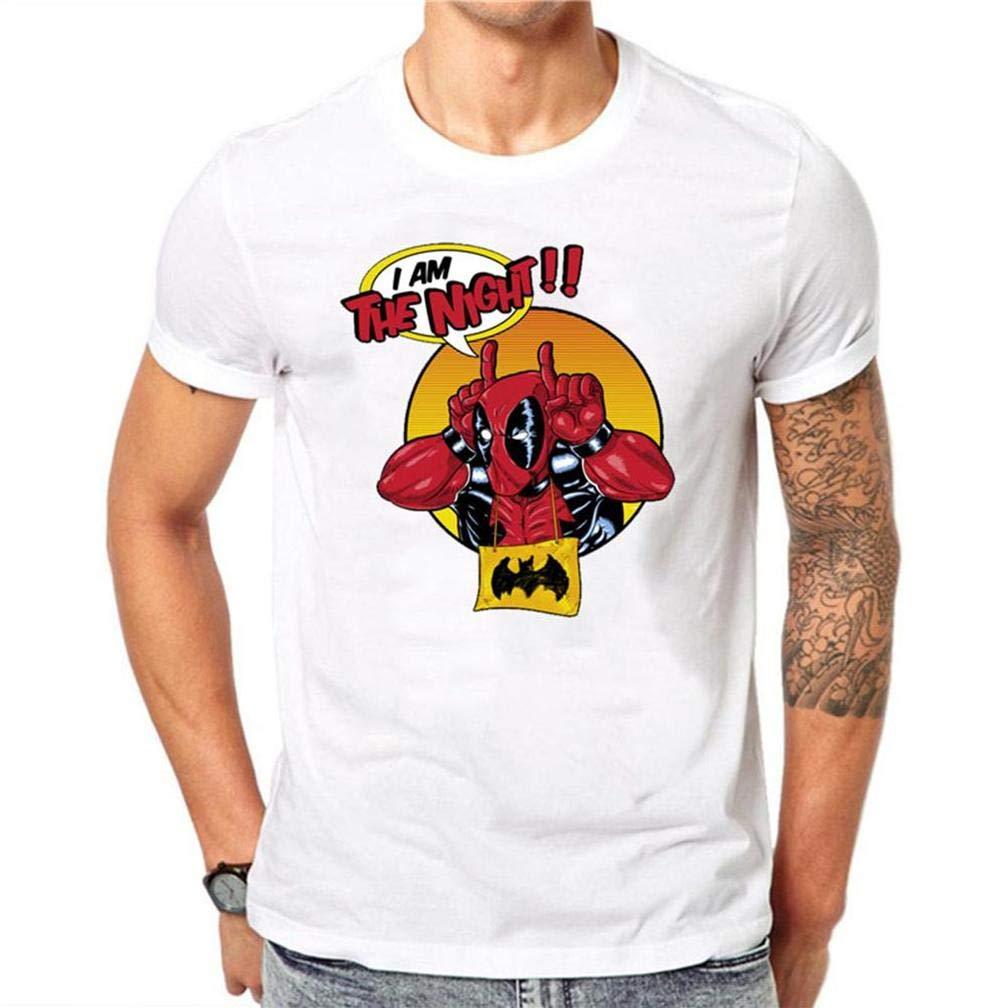 Kawaii Deadpool 8 S T Shirt Printing Short Sleeve Tee