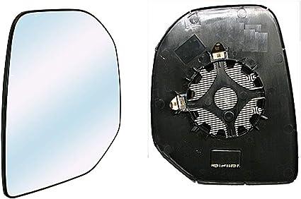 destro termico Specchio Retrovisore Specchietto Vetro Con Piastra Destro Sinistro