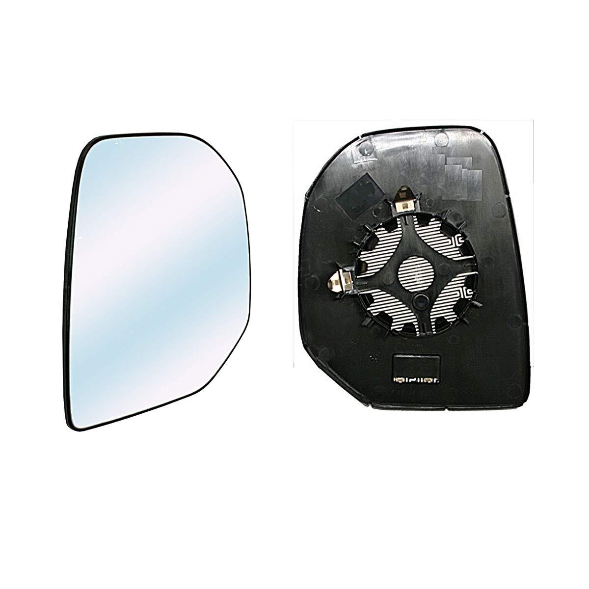Vetro Specchio Retrovisore Destro termico per CITROEN BERLINGO dal 2008 a 2011