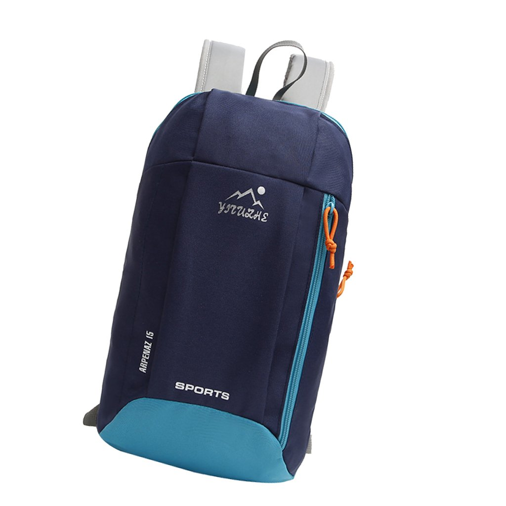 f337b24677 MagiDeal 15L Kids Adults Mini Small Waterproof Backpack Casual Travel  Hiking Daypack (7 Colors) - Dark Blue  Amazon.ca  Sports   Outdoors