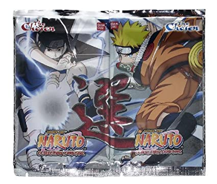 Naruto The Chosen Boosters Pack - 2 Packs [Toy]