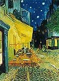 Clementoni 31470 - Puzzle Van Gogh - Esterno di Caffè di Notte, Collezione Museum, 1000 Pezzi