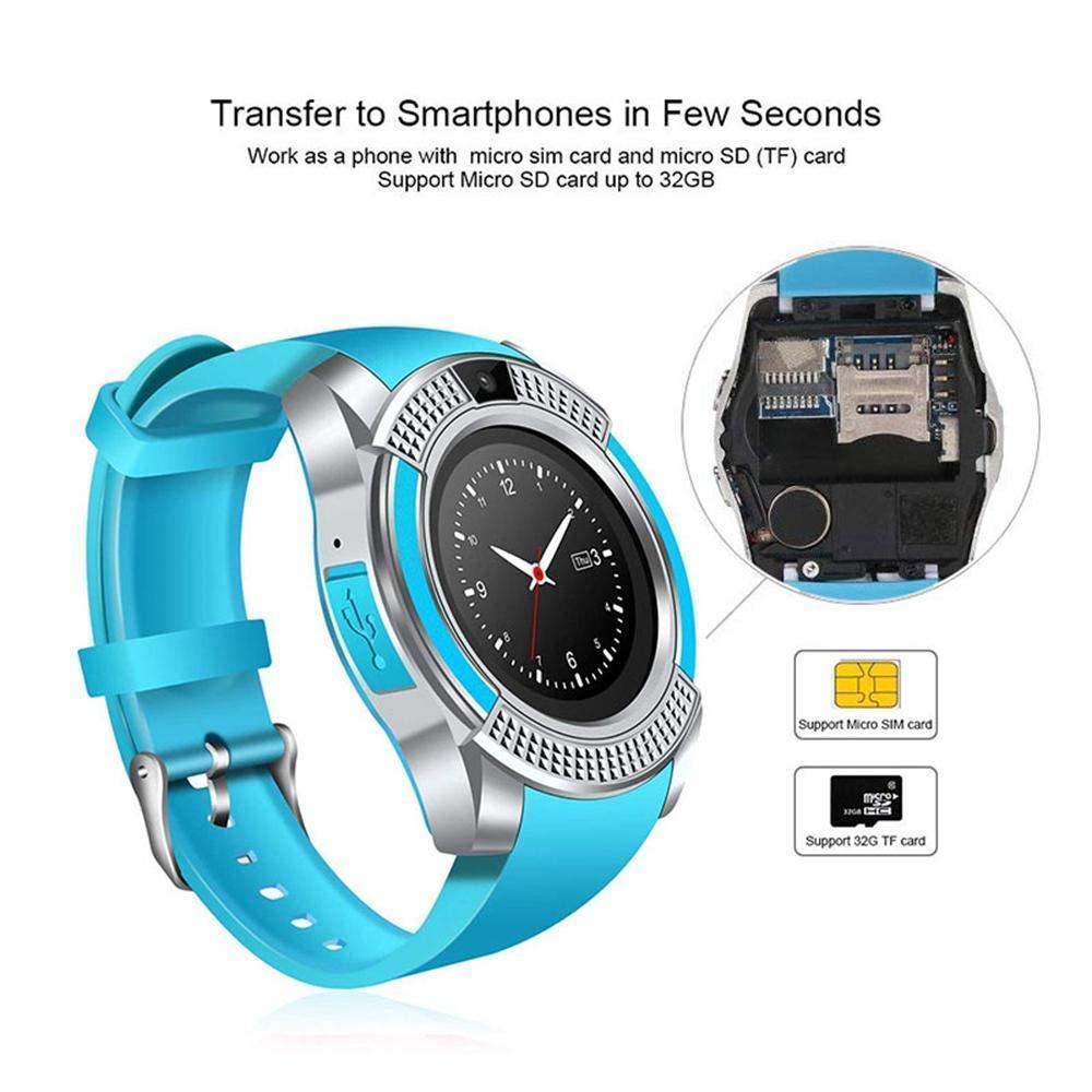 Smartwatch, Reloj Inteligente Android con Ranura para Tarjeta SIM ...