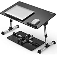 [Large Size] Besign Adjustable Latop Table, Portable Standing Bed Desk, Foldable Sofa Breakfast Tray, Notebook Computer…