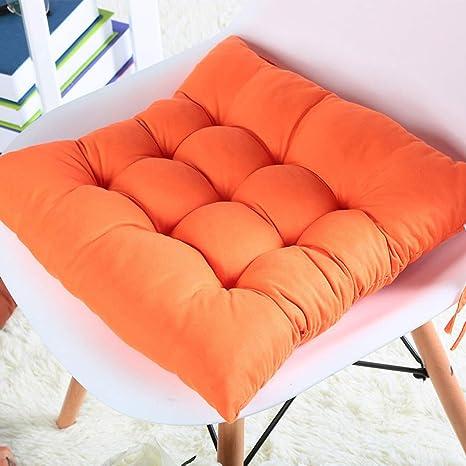 Amazon.com: Cojín cuadrado para silla de espuma ...