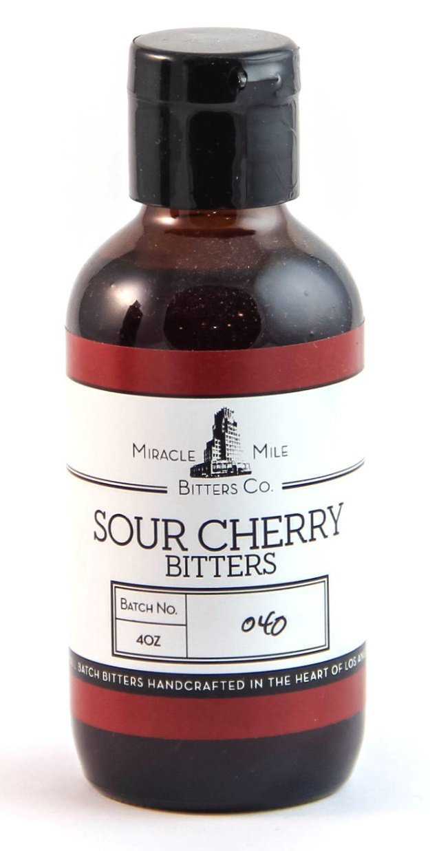 Miracle Mile Sour Cherry Bitters 4 oz