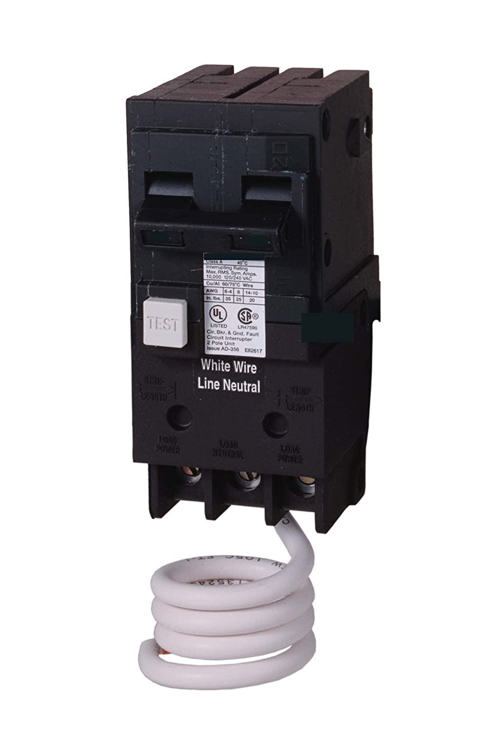 Murray MP220EG 20-Amp Double Pole 120/240-Volt Group Fault Equipment Protection Circuit Breaker by Murray B0085JHI6C