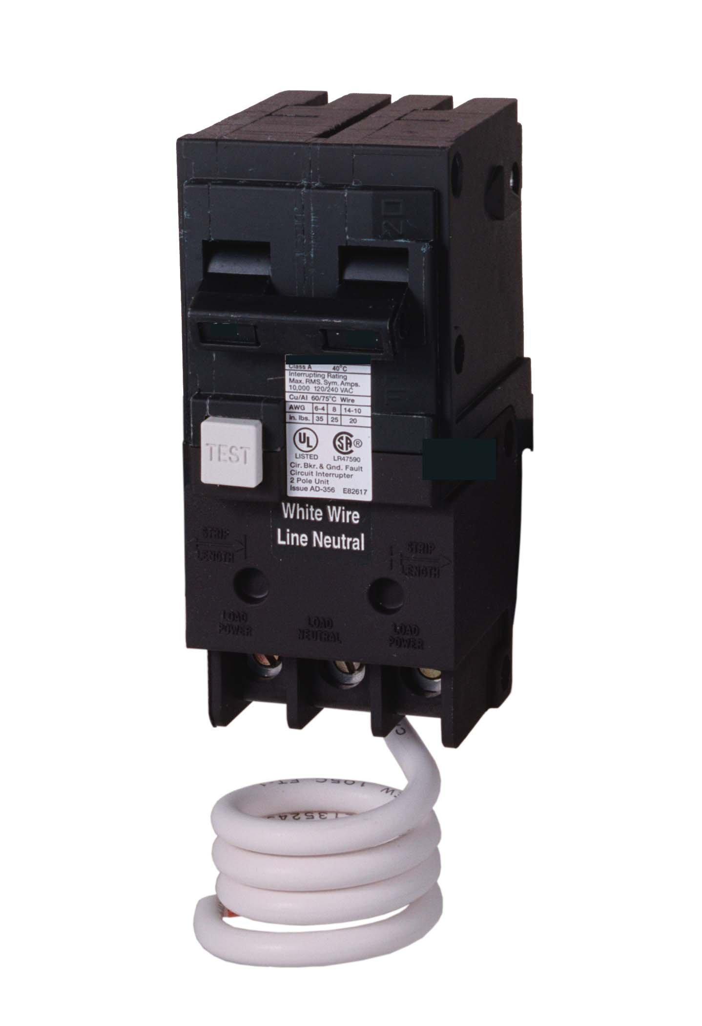 Murray MP230EG 30-Amp Double Pole 120/240-Volt Group Fault Equipment Protection Circuit Breaker