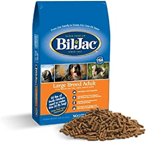 Bil-Jac Large Breed Adult Dry Dog Food, 30-Pound Bag