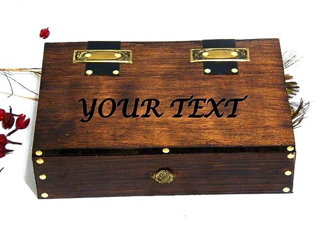 Boîte personnalisée boîte en bois boîte pour homme boîte de