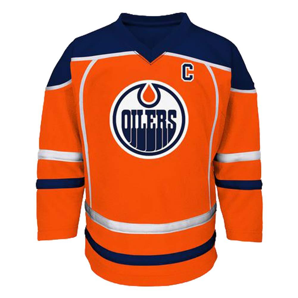 the best attitude f950f 682d2 Connor McDavid Edmonton Oilers #97 Kids Orange Player Stripe Fashion Jersey