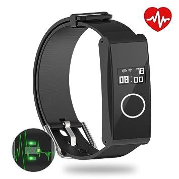 Montre Connectée, Metalbay Tracker dactivité, Bracelet Fitness Tracker, Design le plus