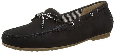 Gabor Shoes Gabor Casual, Mocassins Femme, Bleu (Pazifik Grau), 37.5 EU