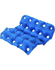 """Air Seat Cushion Inflatable, Office Chair Pad Padded Seat Sits Padding + Inflatable Pump For Wheel Chair Car Airplane Prolonged Sitting Tailbone Sciatica Pain Relief 42x43cm/16.5x16.9"""""""