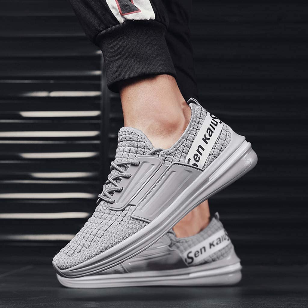 Sneakers for Men Running Casual Athletic Shoes Lightweight Breathable Tennis Training Sport Gym Sneaker by Dainzuy
