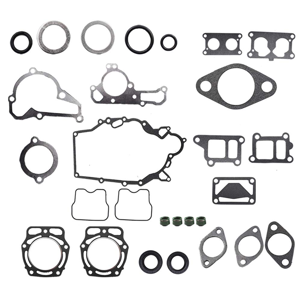 labwork Full Gasket Kit for Kawasaki KAF620 Mule 2500 2510 3000 3010 4000 4010 by labwork