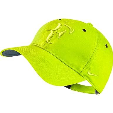 Nike RF Hybrid Cap Gorra, Hombre, Amarillo Flint Grey/Volt, Talla ...