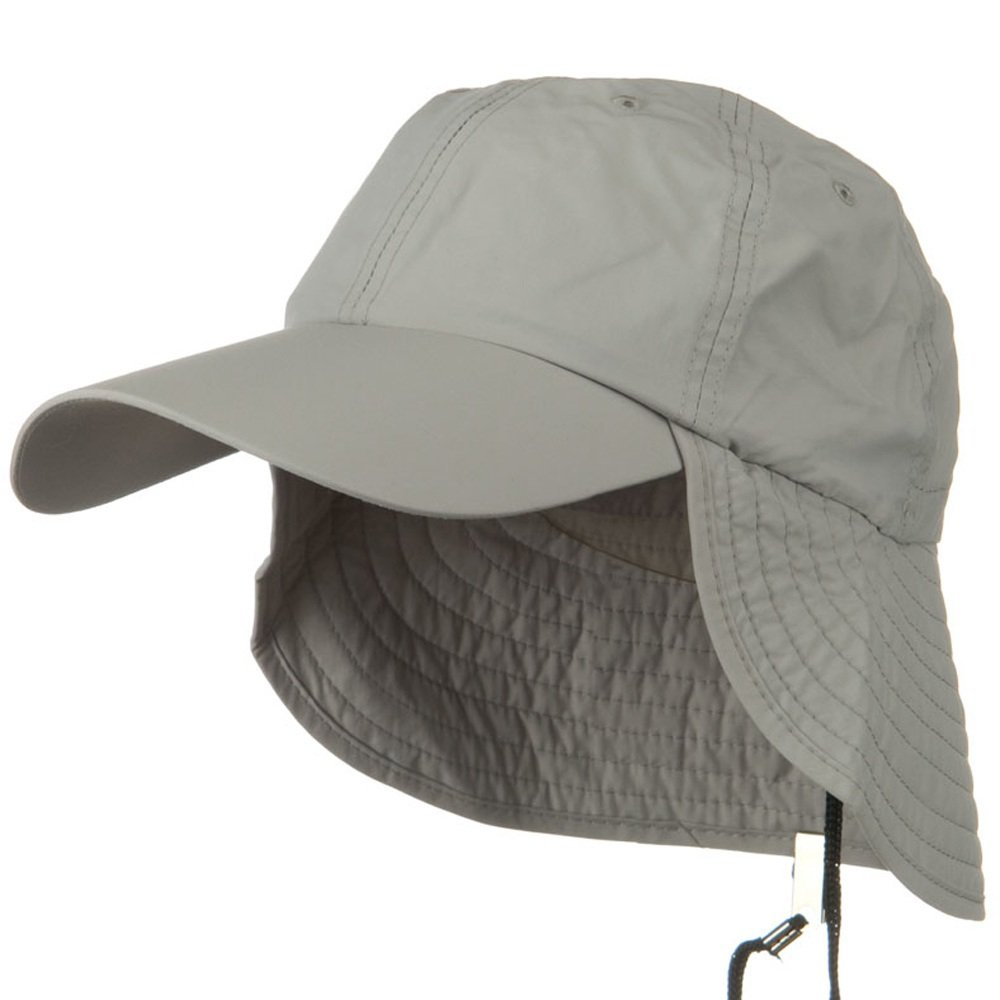 Outdoor Talson UV Flap Cap Grey Juniper UV 50
