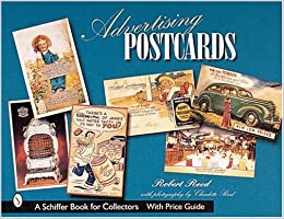 advertising postcards schiffer book for collectors with price guide