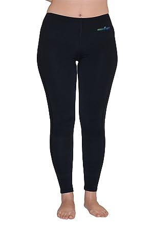 9cd64917811cb Swim Tights Full Leggings Gym Wear UV Protective Clothing UPF50+ XS Black