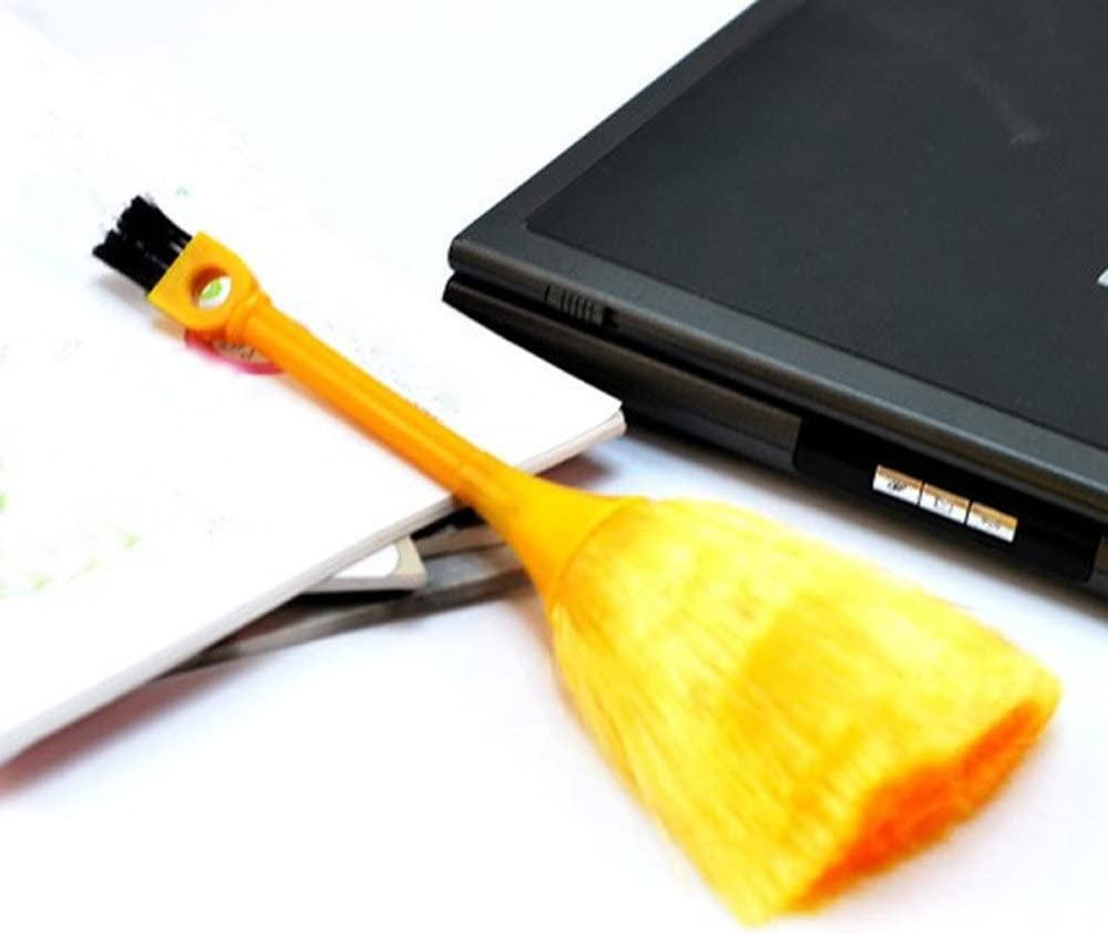 Bluelover Multifunktions Mini Tastatur Fahrzeug Antistatische Staubpinsel Desktop Kehrmaschine Reinigung Hause Abstauben Pinsel Küche Haushalt