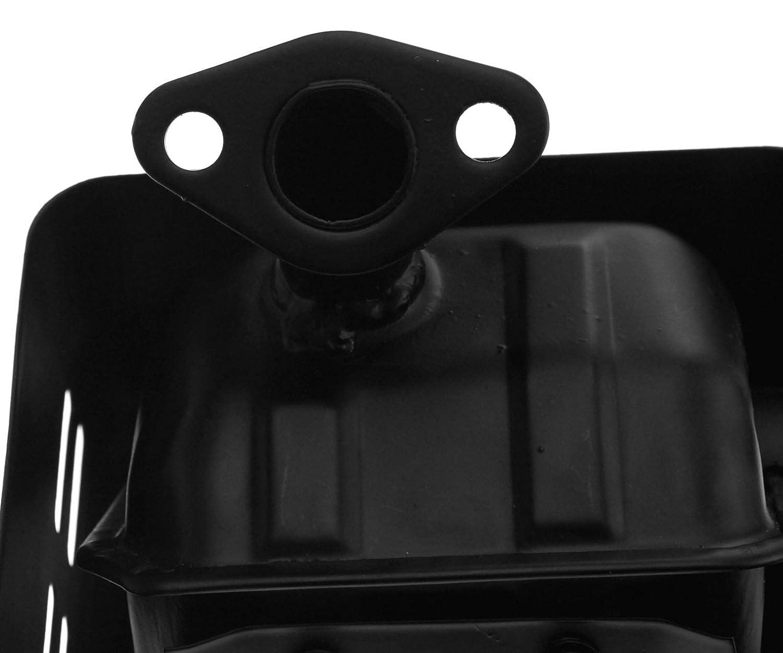 Create Idea Auspuff Schalld/ämpfer Silencer schwarz Exhaust /& Dichtung KOMPATIBEL MIT Honda GX110 GX120 GX140 GX160 /& GX200