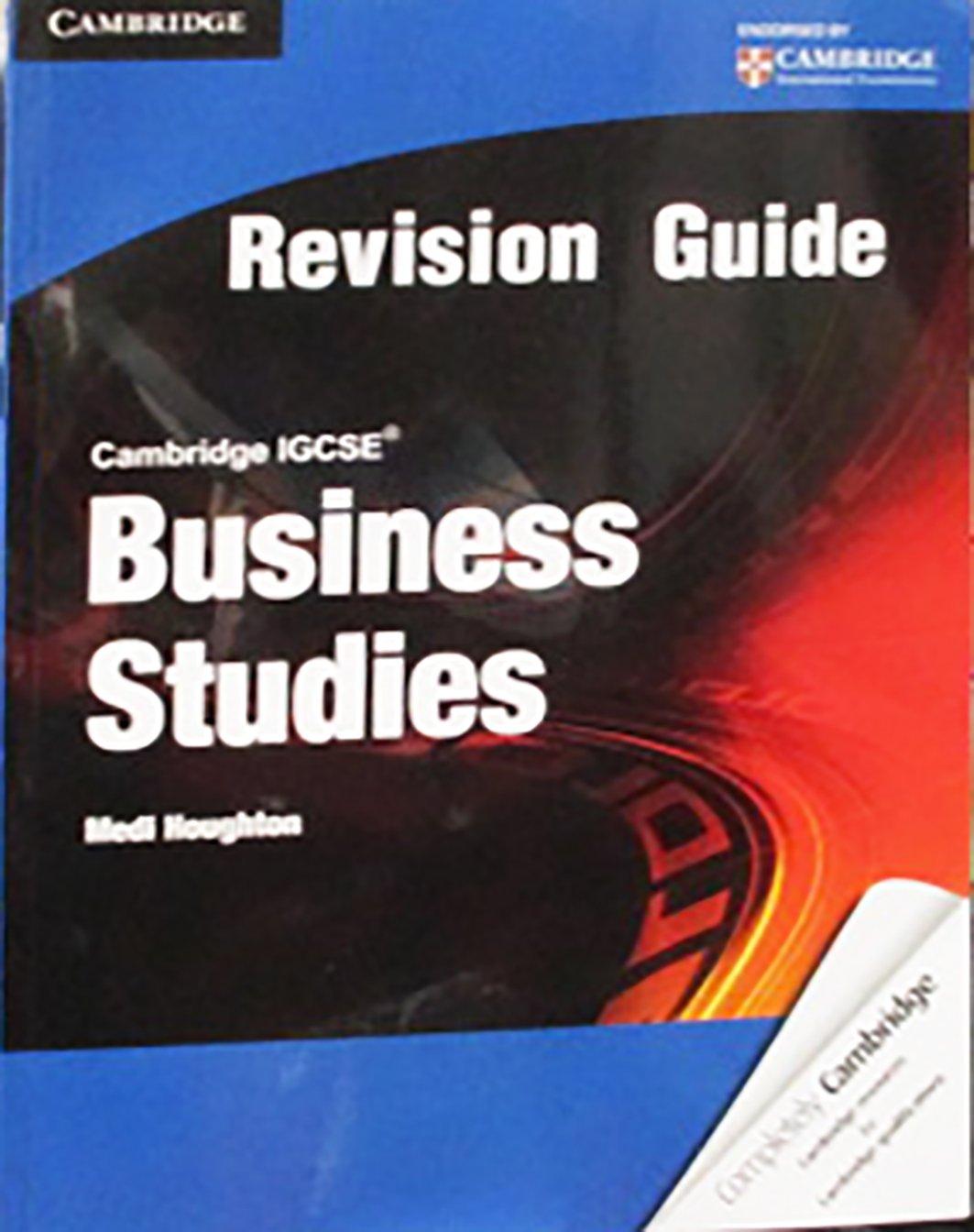 Cambridge IGCSE Business Studies Revision Guide Cambridge ...