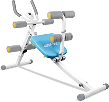 iDeer Life Abdominal Workout Machine with LCD Display