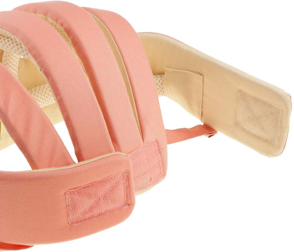 Beige Fenteer Chapeau Protection B/éb/é Nourrisson Casquette Incassable