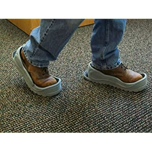 Tidy Trax A Hands-Free Shoe Covers - carpet