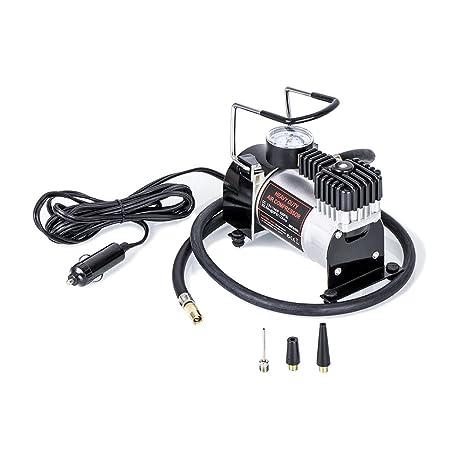 Zipom - Bomba de aire de 12 V 100 PSI compresor portátil de aire, multiusos