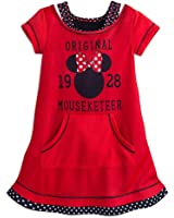 Disney Minnie Mouse Mouseketeer Nightshirt for Girls Red