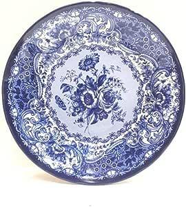Small Malaysian blue serving dish