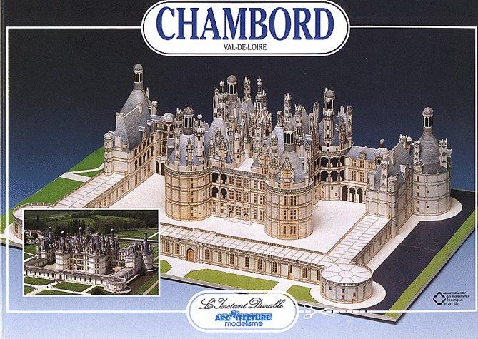 Chateau Chambord: Scale Architectual Paper Model (Chateau Model)