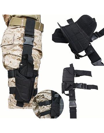 AGPTEK Funda de Pistola Táctica Ligero y Durable Tamano Compatible con la  Mayoría de Pistolas Marcadas 344c64c1f643