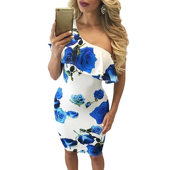 Vestidos Mujeres Verano 2018 Corto Vaina Vestido Fiesta Mujer Elegante Vestido de Playa Casual Floral Vestir