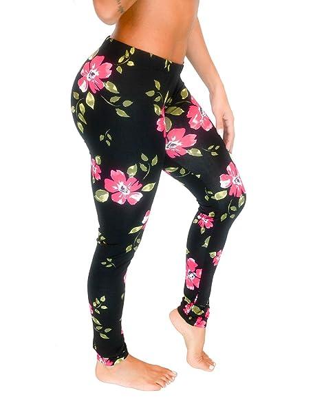 093da8f0ee8deb Vivian's Fashions Long Leggings - Floral Design (Junior and Junior Plus  Sizes): Amazon.ca: Clothing & Accessories