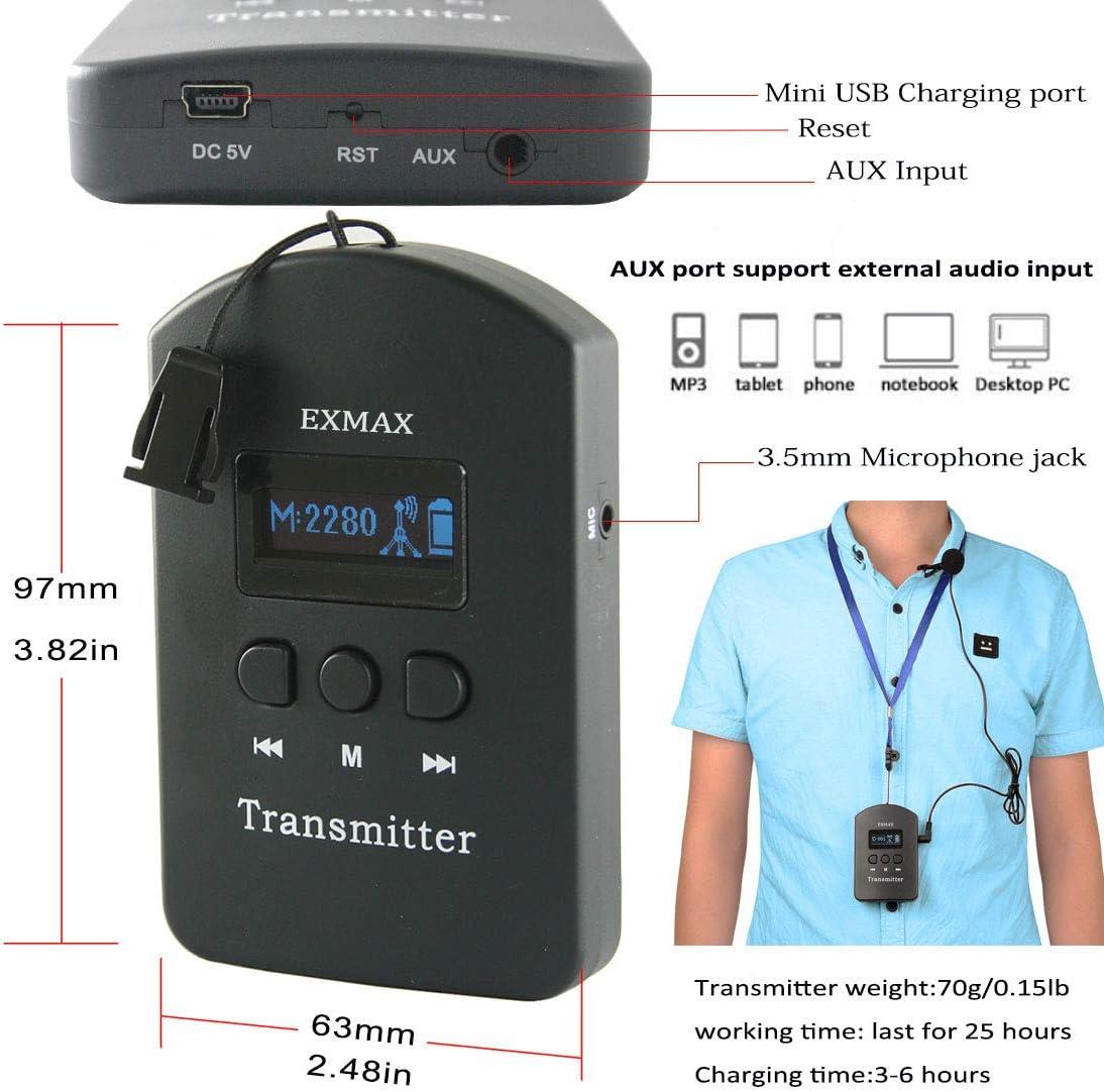 Amazon.com: EXMAX EXD-6824 - Sistema de guía de visitas ...