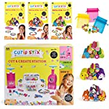 Maya Toys Cutie Stix - Cut & Create Station PLUS Refill Sets and Bags for Jewelry Making