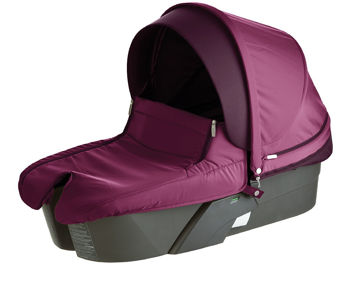 B003LLPRTO Stokke Xplory Carry Cot Complete, Purple 612TaU2BBowL