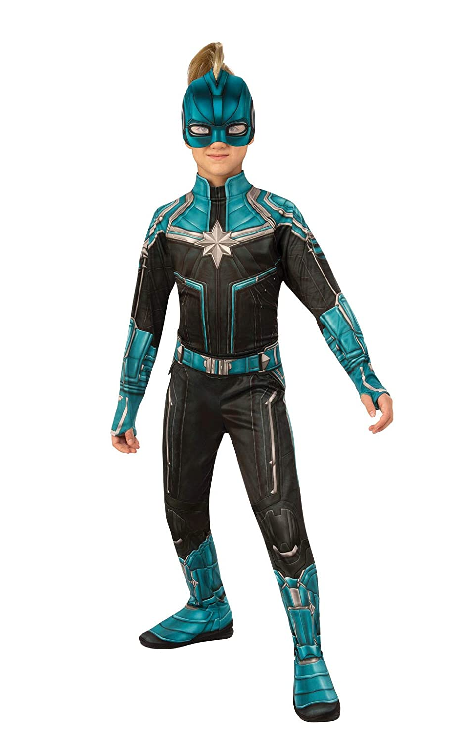 Rubie's Captain Marvel Child's Kree Suit Costume, Medium