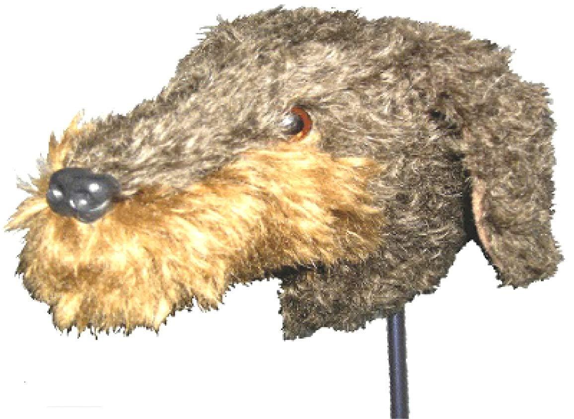 nokduk ゴルフ ヘッドカバー パター仕様 アニマルシリーズ 『テリア』 モヘア製 丁寧な手作り とっても可愛い犬のパターカバー DOG ドッグ dog 動物キャラクター   B07HVSGVQ8