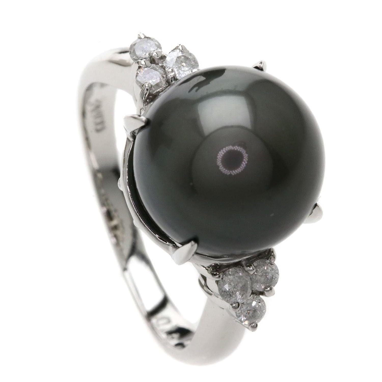 [セレクトジュエリー]パール/真珠/ダイヤモンド リング指輪 Pt900 レディース (中古) B07CLDCX5H