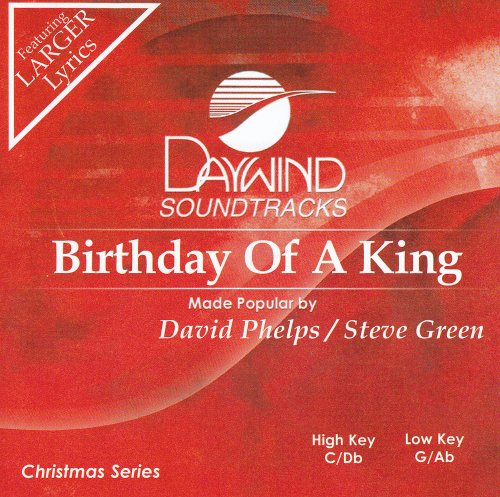 Birthday Of A King [Accompaniment/Performance Track] (Accompaniment King Cd)