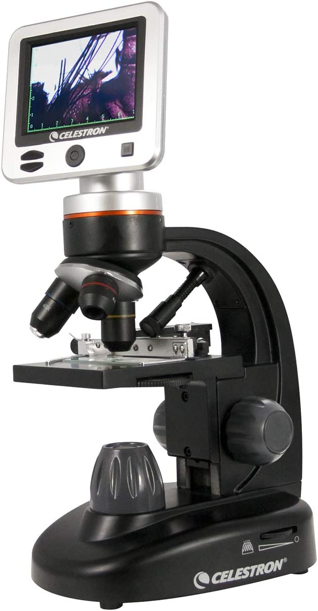 Celestron 44341 – LCD Digital / Biological Microscope with a Built-In 5MP Digital Camera