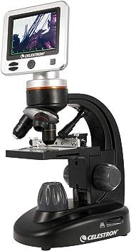 Celestron 44341 1600x Digital microscope - Microscopio (Digital microscope, 1600x, 400x, Negro, USB 2.0, 5 MP)
