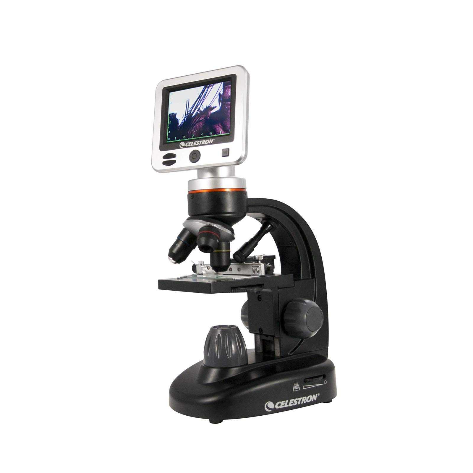 Celestron 44341 LCD Digital Microscope II (Black) by Celestron